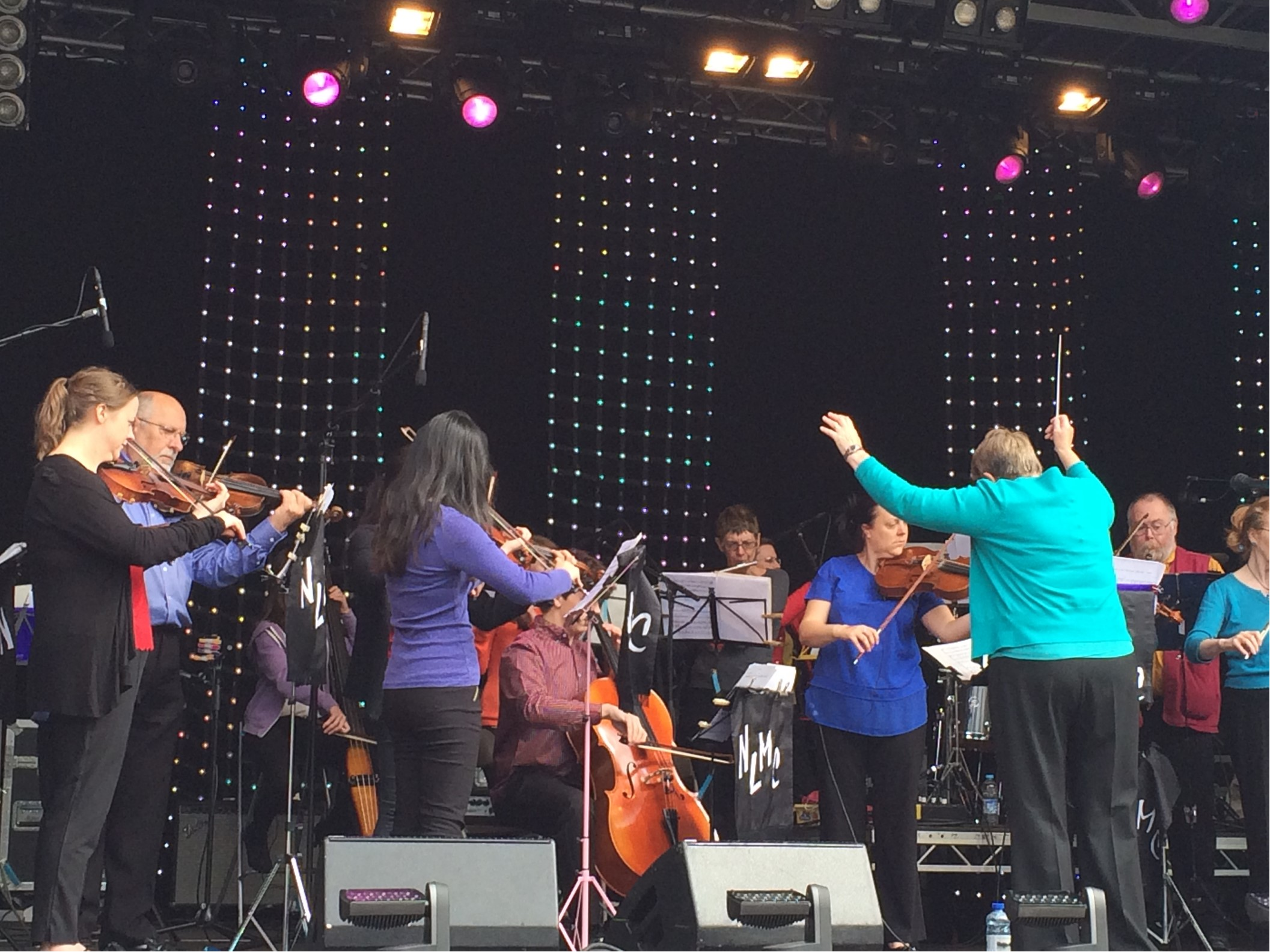 North Leeds Music Centre's orchestra in full flight at Chapel Allerton Festival