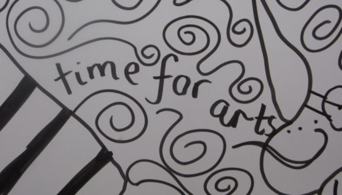 illustrations saying Time for Arts